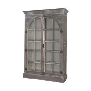 """Manor - 80"""" Arched Door Display Cabinet"""