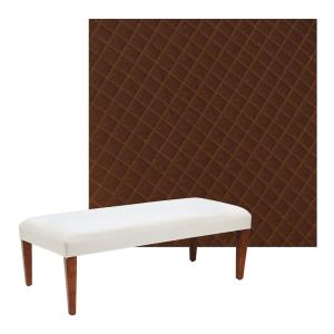 Mink - 22 Inch Bench Cover Only