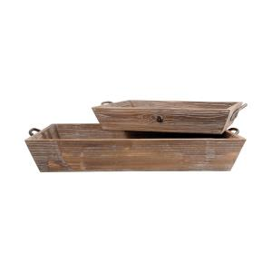 Americana - 26.5 Inch Deep Tray (Set of 2)