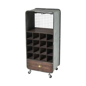 "Brookdale - 39.75"" Wine Cart"