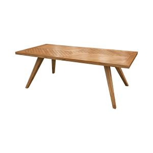 "Teak - 90"" Outdoor Patio Dining Table"