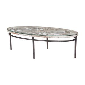 "Farmhouse - 54"" Oval Coffee Table"