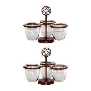 "Savanna - 14"" Triple Server (Set of 2)"