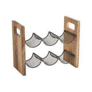 Farmhouse - 13.25 Inch Wine Rack