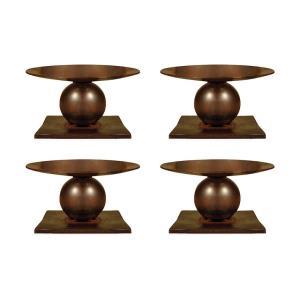 "Prado - 5.25"" Pillar Holder (Set of 4)"