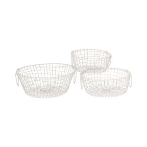 Howell - 14.75 Inch Round Baskets (Set of 3)