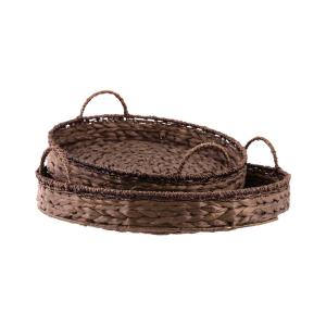"Saigon - 20"" Round Trays (Set of 2)"