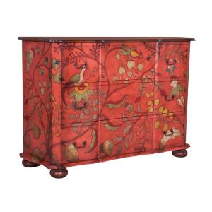 Duchess - Traditional Style w/ FrenchCountry inspirations - Mahogany 3-Drawer Chest - 46 Inches tall 66 Inches wide