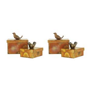 "Woodlands - 5.25"" Boxes (Set of 2)"