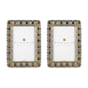 Monica - 7.25- Inch Picture Frame (Set of 2)
