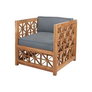 Vincent - 36 Inch Lattice Outdoor Chair