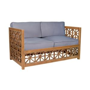 Vincent Lattice - 66.25 Inch Love Seat