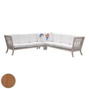 """Hilton - 78"""" Outdoor Sectional (Set of 15)"""