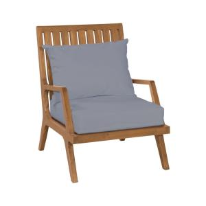 "Teak - 36"" Outdoor Patio Lounge Chair"