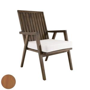 Teak - Transitional Style w/ Coastal/Beach inspirations - Teak Wood Outdoor Garden Patio Chair - 36 Inches tall 24 Inches wide