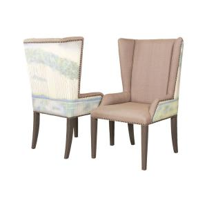"""Ladies By The Lake - 31.75"""" Wing Back Chair (Set of 2)"""