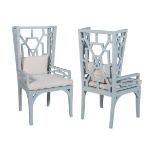 Manor - 47.5 Inch Wing Back Chair (Set of 2)