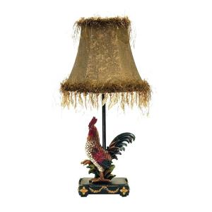 Petite Rooster - One Light Table Lamp