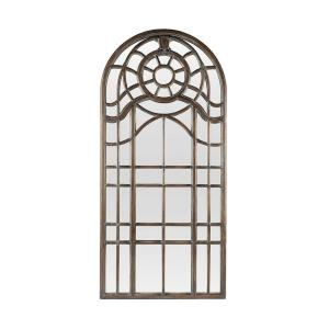 Ansonian - Traditional Style w/ ModernFarmhouse inspirations - Glass and Wood Floor Mirror - 90 Inches tall 42 Inches wide