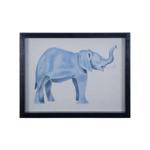Elephant - 17- Inch Wall Art