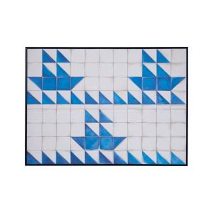 Blue Boats - 57- Inch Wall Art