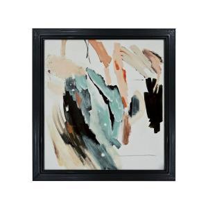 Emergence - 43- Inch Handpainted Wall Art