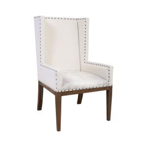 Wesley - Transitional Style w/ Coastal/Beach inspirations -  Wingback Chair - 47 Inches tall 27 Inches wide