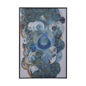 "Surfside - 50"" Marine Glass Wall Art"