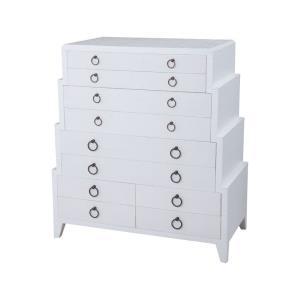 "Grand Ziggurat - 42"" Dresser"