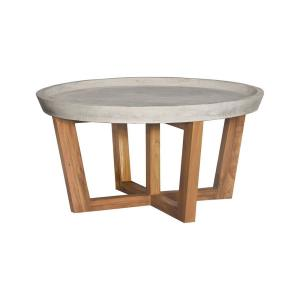 32 Inch Round Concrete Cocktail Table
