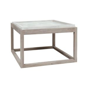 24 Inch Concrete Outdoor Parsons Table