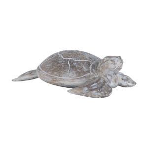 Galapagos - 16 Inch Turtle Albasia Wood