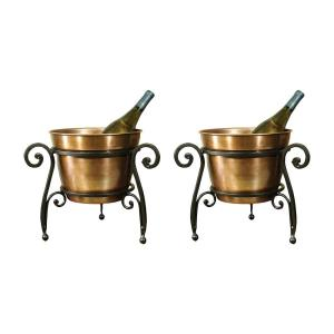La Forge - 14 Inch Beverage Bucket (Set of 2)