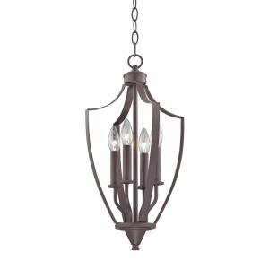 Foyer - Four Light Mini Pendant