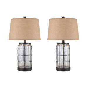 Yankee Hill - Two Light Table Lamp (Set of 2)
