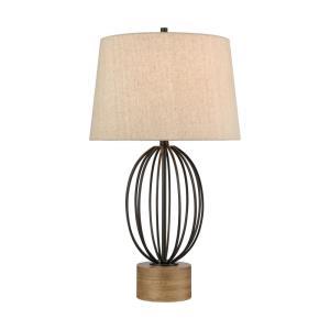 Old Oak - One Light Table Lamp