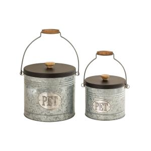Countryside - 10 Inch Pet Canister (Set of 2)