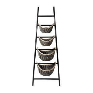 Plaid - 72 Inch Ladder Basket