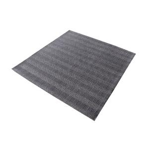 Ronal - 16 Inch Square Handwoven Cotton Flatweave Rug