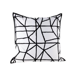 "Cracking - 24"" Pillow With Goose Down Insert"