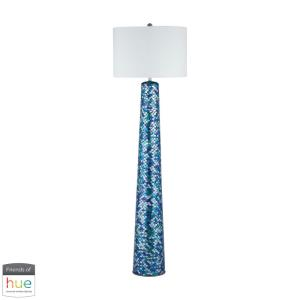 """Aphrodisia - 62"""" 60W 1 LED Floor Lamp with Philips Hue LED Bulb/Dimmer"""