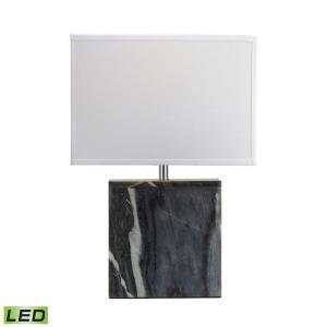 "20"" 9.5W 1 LED Square Table Lamp"