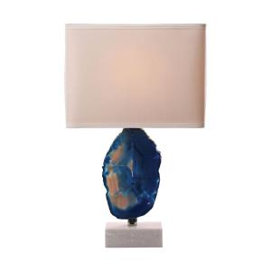 Minoa - Transitional Style w/ Luxe/Glam inspirations - Metal 1 Light Table Lamp - 28 Inches tall 14 Inches wide