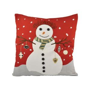 """Snowman - 20x20"""" Pillow Cover Only"""