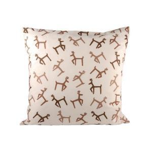 Dancing Reindeer - 20x20 Inch Pillow Cover Only