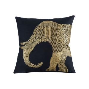 """Bali Elephant - 20x20"""" Pillow Cover Only"""
