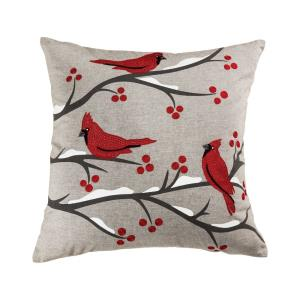 Cardinal Ridge - 24x24 Inch Pillow Cover Only