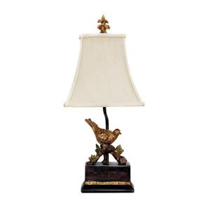 Perching Robin - One Light Table Lamp