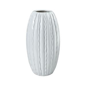 St. Croix - Transitional Style w/ Coastal/Beach inspirations - Fiberglass Vessel - 32 Inches tall 16 Inches wide