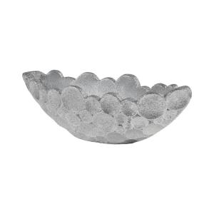 Sea Foam - Modern/Contemporary Style w/ Nature-Inspired/Organic inspirations - Fiberglass Planter - 10 Inches tall 32 Inches wide